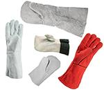 рукавицы спилковые